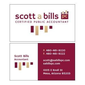 Split SA Bills PC Logo and Card Design
