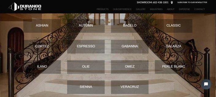 Split Pear Durango Stone Website Deseign