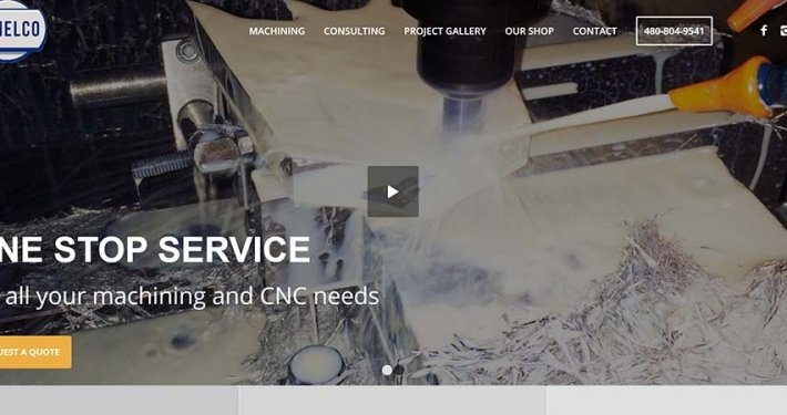 Split Pear Jemelco Website Design