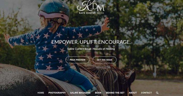 Split Pear Kate Doster Media and Photographer Website Design