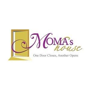 Split Pear Moma's House Logo Design